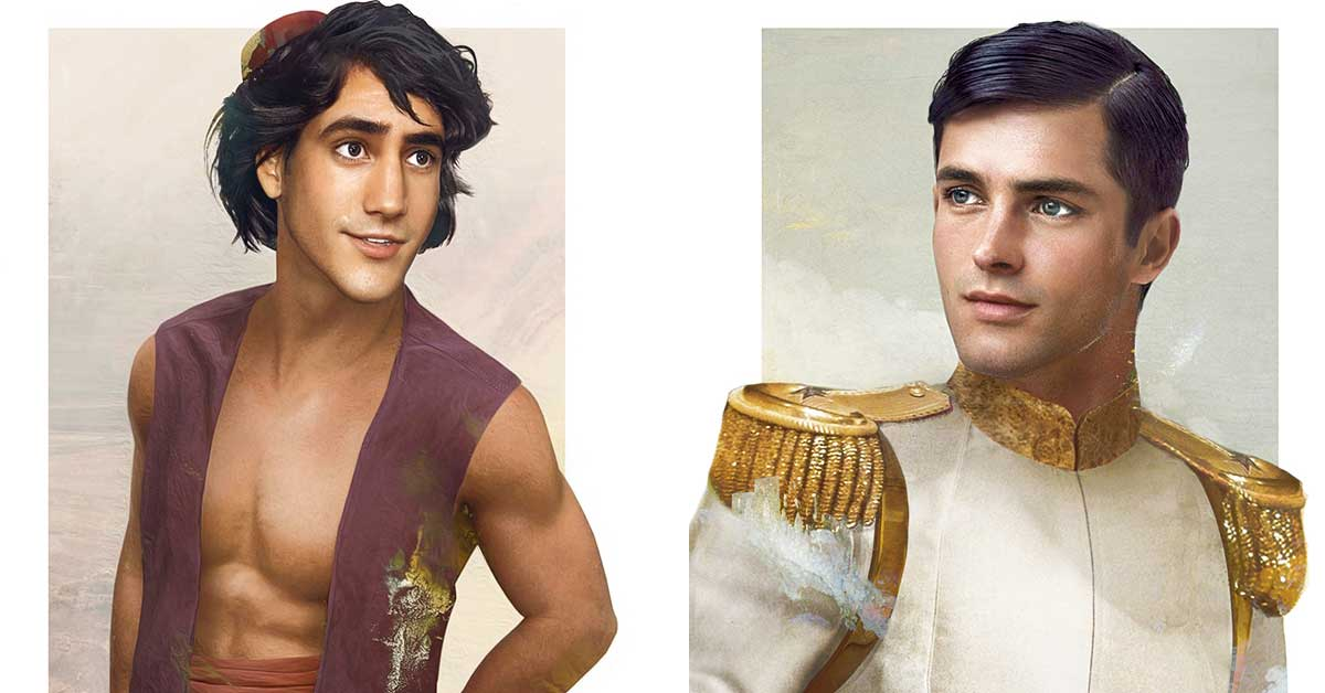What Disney Princes Would Look Like In Real Life Chip Chick