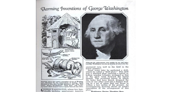 George washington achievements