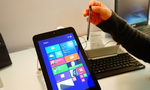 Hands on with ASUS VivoTab Note 8 Windows 8 1 Tablet with Wacom