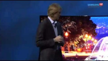 Video thumbnail for youtube video Michael Bay's Samsung CES Appearances Ends in Fiery Explosion of Shame