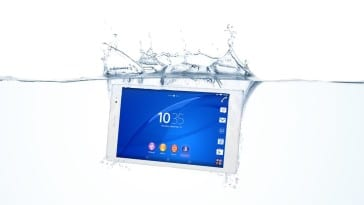 Xperia Z3 Tablet Compact_Water