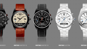 Martian Watch Collection