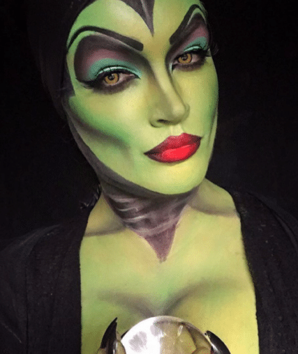19 Totally Spooky Disney Makeup Masterpieces Just In Time